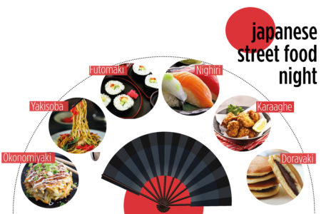 JAPANESE STREET FOOD NIGHT_ venerdì 31 maggio 2019